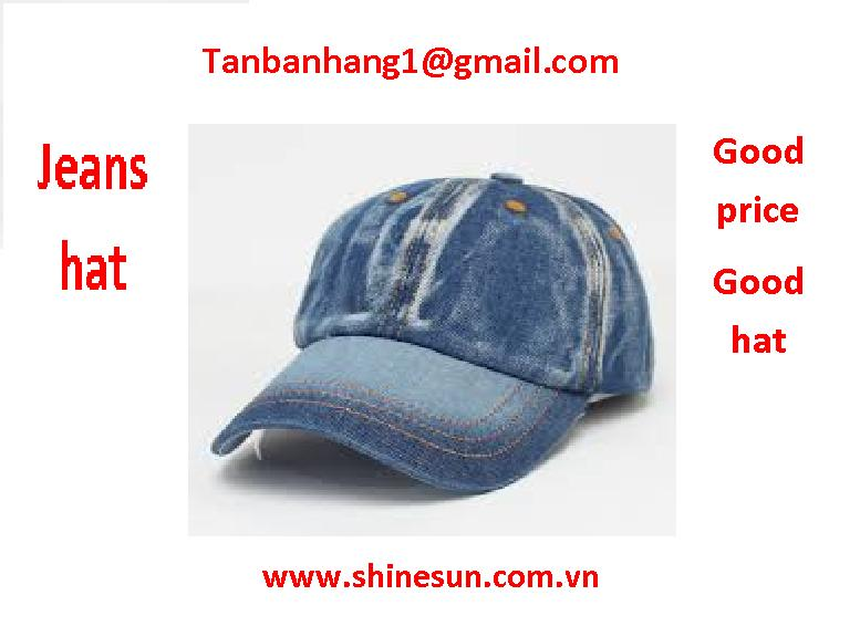 jeans hat