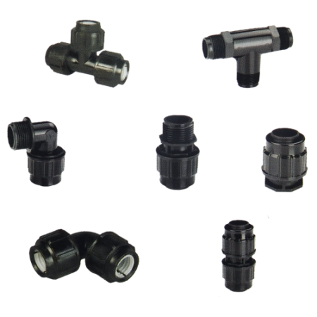 COMPRESSION & PUSH FITTINGS