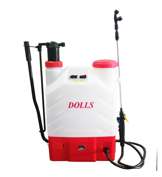 Battery & Manual Operated Sprayer  (12V12AH) 16 L Backpack
