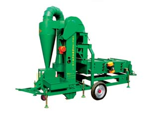 5XZC-5BX Air-Screen Cleaner Grain Sorting Machine Agriculture Machinery Sanli Brand