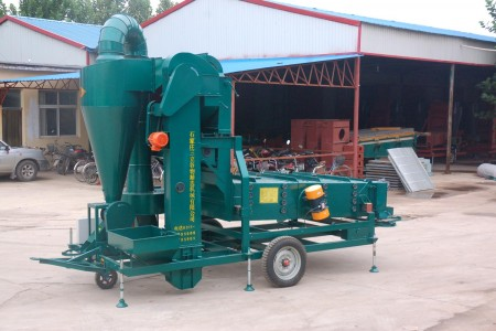 5XZC-15DXA Air-Screen Cleaner Ariculture Machinery Seed Processing Machine Sanli Brand