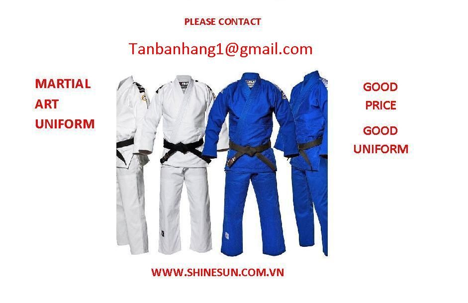 martial art uniform
