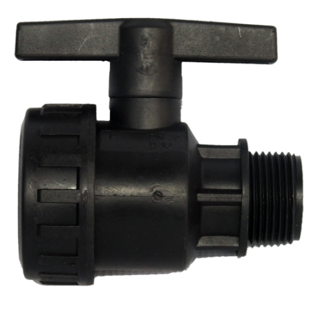 PP SINGLE UNION TYPE VALVE
